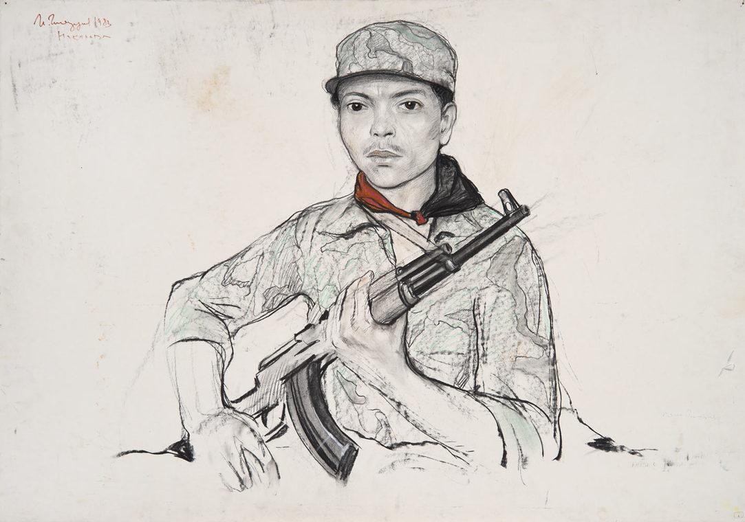 Солдат-пограничник из Ококоны