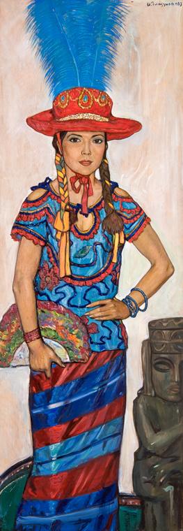 Балерина Бланка Гуардадо