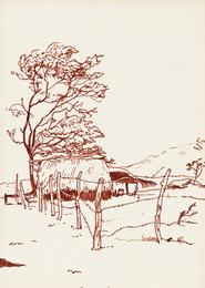 Индейская деревня по дороге в Леон