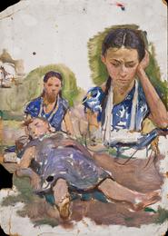 Две женские фигуры