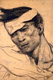 Раненый боец