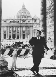 Илья Глазунов в Риме