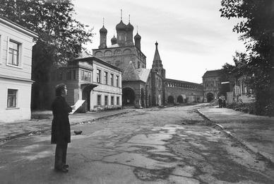 Илья Глазунов в Крутицком подворье