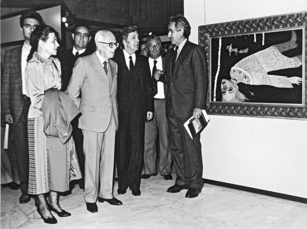 По инициативе президента Алессандро Пертини в Риме открылась выставка Ильи Глазунова