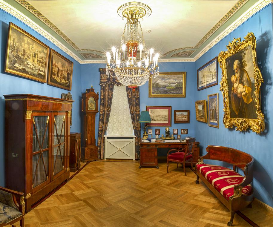 Общий вид Мемориального кабинета (фото №1)