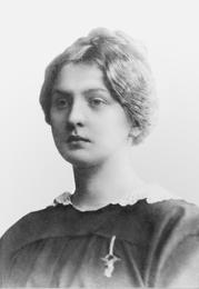 Ольга Константиновна Глазунова (1897-1942), урожденная Флуг. Мать И.С.Глазунова. Санкт-Петербург