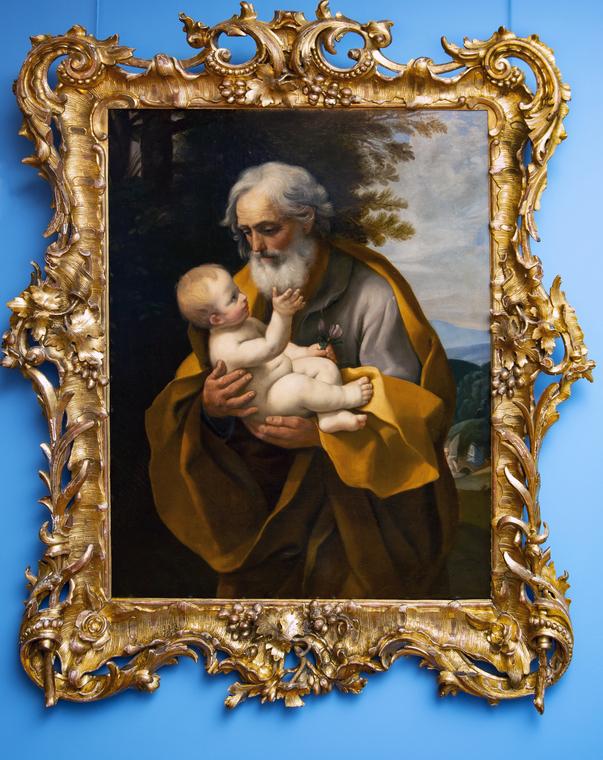 О.А. Кипренский (1782-1836). Иосиф с младенцем. Первая половина XIX века