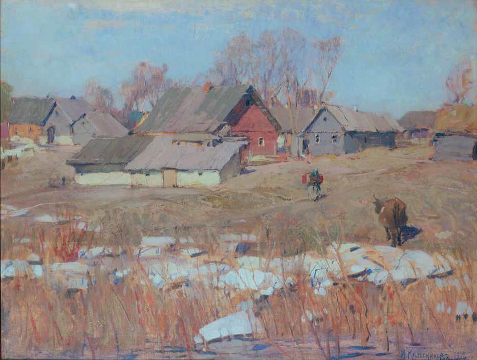 С.Ф.Колесников (1879-1955). Весна