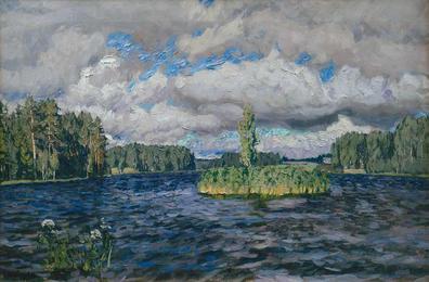 С.Ю.Жуковский (1873-1944). Озеро Молдино