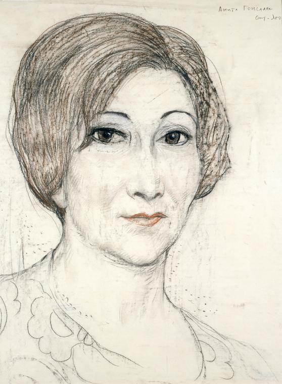 Артистка Анита Гонсалес