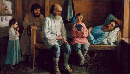 Ф.А.Малявин (1869-1940). Чтение