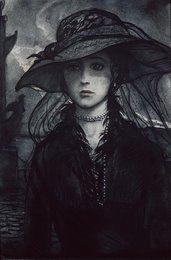Незнакомка. Иллюстрация к стихотворению А.А. Блока «Незнакомка»