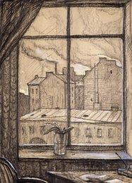 Ландыши. Иллюстрация к стихотворению А.А. Блока «Окна во двор»