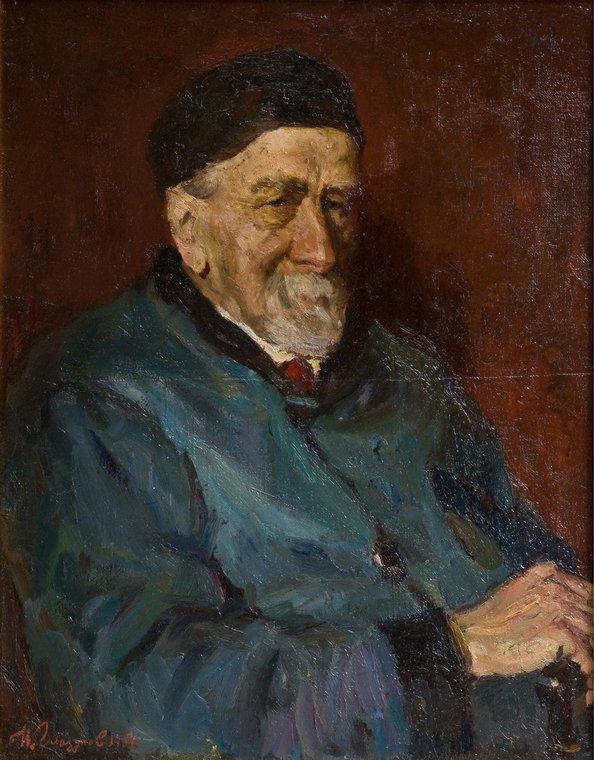 Портрет профессора В.Г. Ушакова