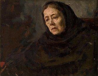 Портрет В.К. Берхман