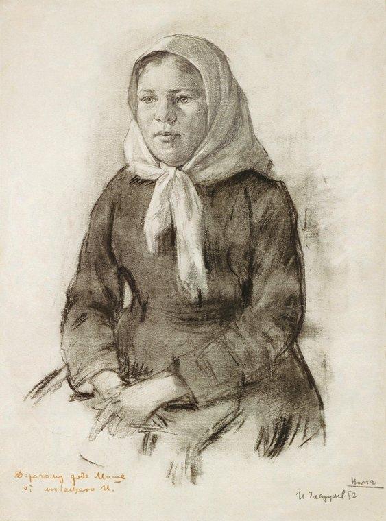 Девушка из Васильсурска или Крестьянская девушка с Волги