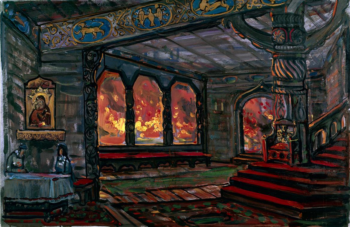 В княжеском доме