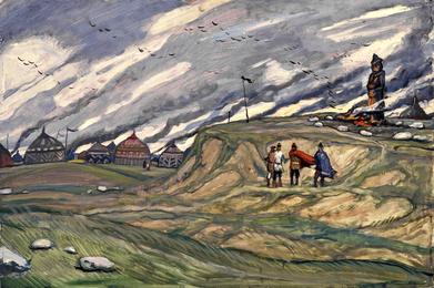 Лагерь половцев
