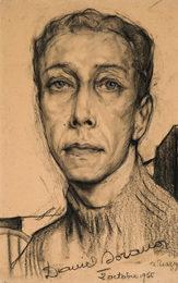 Портрет французского актера Даниэля Сорано