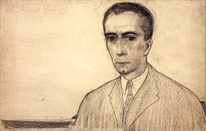 Портрет кинорежиссера М. Антониони
