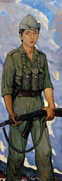 Солдат Максимо Санчес