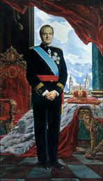 Портрет короля Испании Хуана Карлоса I