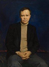 Портрет писателя Валентина Распутина