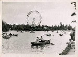 Proekt 8 minut vokrug parka koleso obozreniya 1957 god avtor lev lebedev